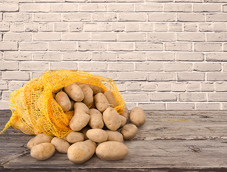 Kolorowe i wytrzymałe worki raszlowe do warzyw i owoców