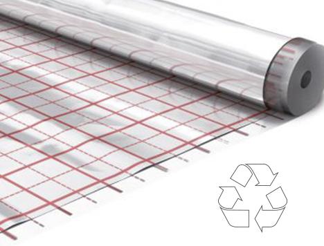 Folia do izolacji podłogi w 100% recykling