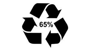 pochodzący z recyklingu